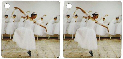 3d Rose 3dRose Happy ballet dancer with a romantic dress ...