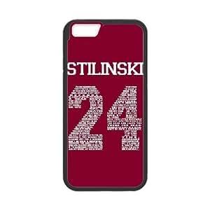 ROJO BEACON COLINAS TEEN WOLF STILINSKI 24 (7) a la mejor funda funda iPhone 6 del teléfono celular de 5.5 pufunda LGadas 6s Plus cubre negro