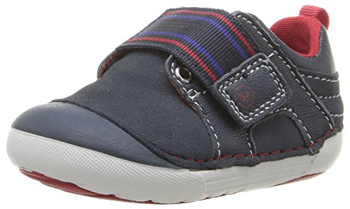 Stride Rite Soft Motion Cameron Sneaker (Toddler/Little Kid), Navy, 5.5 W US Toddler