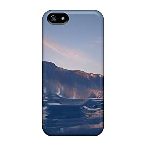 Melted Iceberg Top Quality phone cases fashion Appearance Iphone5 iphone 5s iphone 5