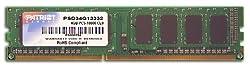 Patriot Signature 4 GB PC3-10600 (1333 MHz) DDR3 Desktop Memory PSD34G13332