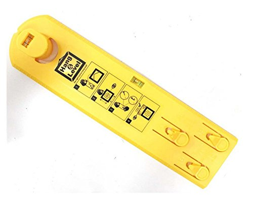 Suspension Measurement Marking Position Tool,Hang and Level Picture Hanging Tool and Horizontal Wall of The Roof, Perfect to Hang Pictures, Mirrors and Clocks, Yellow by GG Life (Image #9)