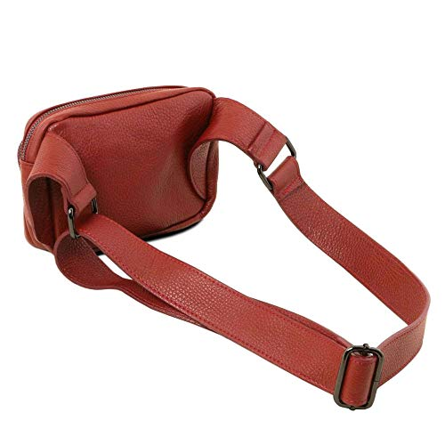 Tl141700 Clutch Leather Red Women's One Tuscany Size w4EqOf4xt