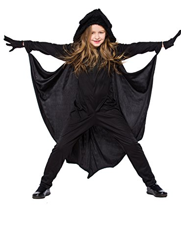Joygown Kid's Bat Jumpsuit One Piece Halloween Party Costume with Gloves S -