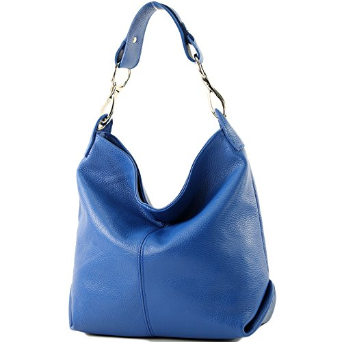 Blau T168 altrosa A Colore In Mano Tracolla Pelle Borsa XPw8xfqgn