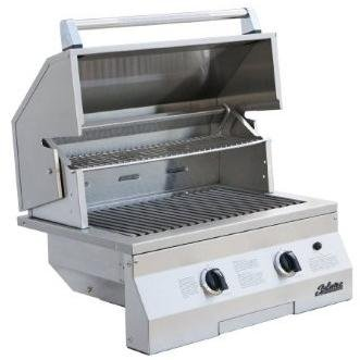 Solaire 27-Inch Deluxe InfraVection Propane Built-In Grill, Stainless Steel
