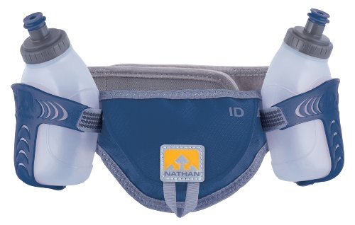 Nathan Hydration 2013 Speed 2 Hydration/Nutrition Waistpak (Estate Blue - S)