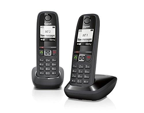 414 opinioni per Gigaset AS 405 Duo Telefono Cordless, Chiamate tra Interni/Interfono, Rubrica