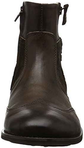 Dark M Homme Yellow Bottes Cab Cold Brown Marron n6nYq4I