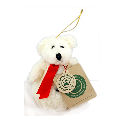 - Boyds Bears Vintage 1990's The Archive Collection Snowman Bear Plush Ornament 5