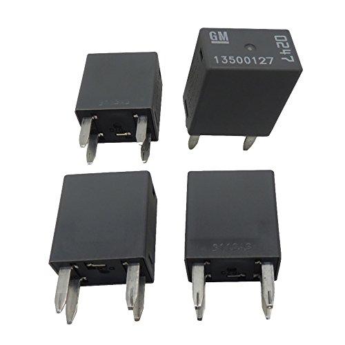 OEM GM 4-Pin Relays (4 Pack) 13500127 4-Terminal Multi-Use Relays -