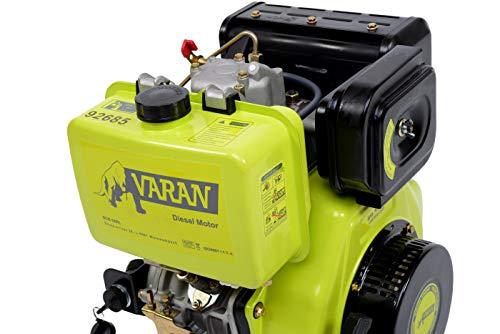 Varan Motors 92685 Diesel Engine 15HP 477cc + Electric Start: Amazon