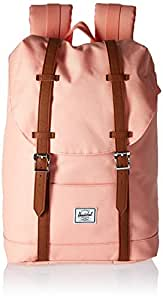 Herschel Supply Co. Retreat Mid Volume, Apricot Blush/Tan Synthetic Leather