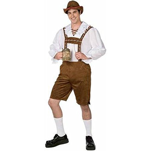 Unbranded Mr Lederhosen Mens L Adult Costume Oktoberfest German Bavarian Beer Octoberfest