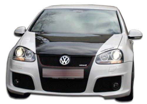 (Duraflex Replacement for 2006-2009 Volkswagen Golf GTI Rabbit 2005-2010 Volkswagen Golf Jetta OTG Front Bumper Cover - 1)