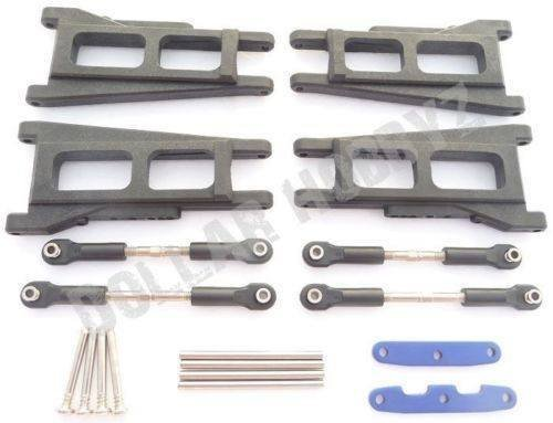 e 4x4 VXL FRONT/REAR SUSPENSION ARMS, HINGE PINS, TURNBUCKLE ()
