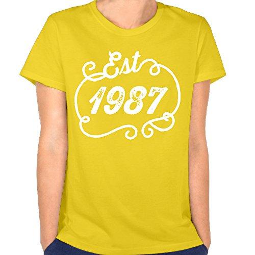 NEYSAC Vintage Year Logo Women's Summer Slim Fit Tucked Crew Casual Basic Short Sleeves Performance T - Sunglasses Q Logo