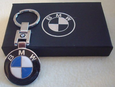 BMW logo keyring metal key chain/keychain keyfobs