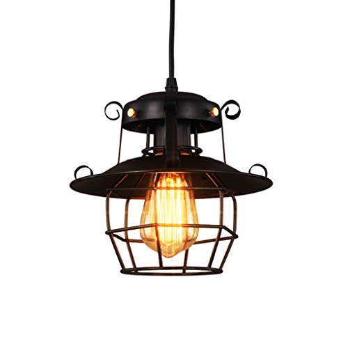 - Chandelier Luminaire LED ceiling lighting American industrial style loft restaurant chandelier Retro nostalgic ceiling lighting Bar table hallway decoration lamp lighting