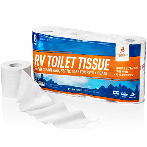 Firebelly Outfitters Rv Toilet Paper Septic Tank Safe 8