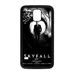 Caso James Bond Samsung Galaxy S5 cubierta Negro Funda caja del teléfono celular Funda Cubierta EDGCBCKCO03930