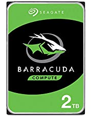 Seagate ST2000DM008 BarraCuda Internal Hard Drive HDD, 2TB, 3.5 Inch