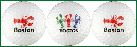 ボストンLobsterさまざまなゴルフボールギフトセット B000S6JM3M