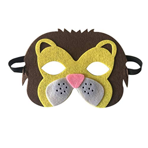 Party DIY Decorations - Brand Cartoon Animals Half Face Kids Mask Children 39 S Day Birthday Dress Up Costume Zoo Jungle - Decorations Party Party Decorations Animal Foam Mask Little Mav -