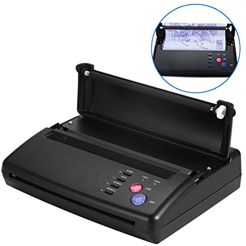Tattoo Transfer Copier Thermal Stencil Printer Machine + Stencil Papers