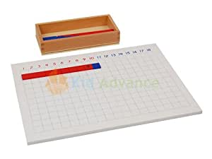 Montessori Addition Strip Board