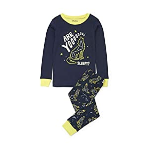 Hatley Boy's Long Sleeve Printed Pyjama Sets