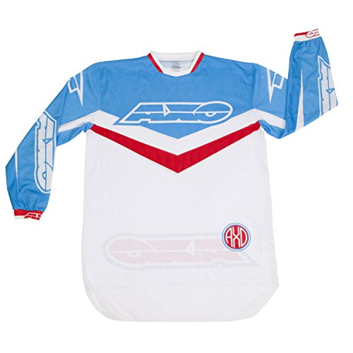 AXO Unisex-Adult Trans-Am Jersey (Red/white/blue, X-Large) ()