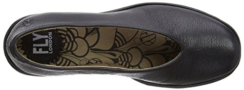 Wedge Yaz Fly Pump Black London Women's nqtxxwSY