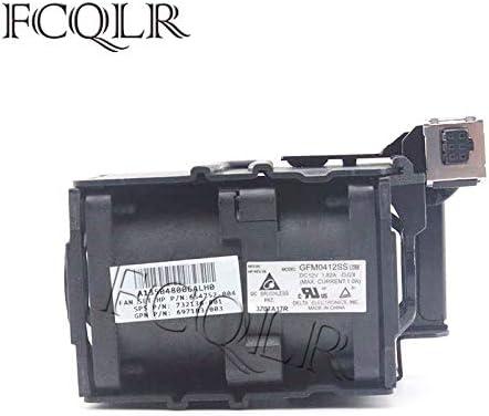 FCQLR Cooling Fan Compatible for HP ProLiant DL360P G8 DL360E Fan Module 697183-002 697183-001 654752-002 654752-003 667882-001 GFM0412SS Fan