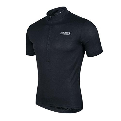 Bpbtti Men's SS Bike Biking Shirt Solid Color Cycling Jersey (Chest 44-46