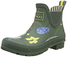 Joules Women's Work Wellington Boots, Green Green Floral Grnfloral, 40/41