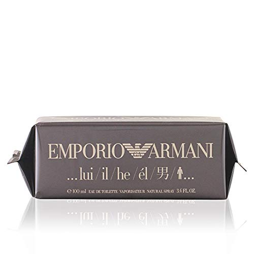 Emporio Armani By Giorgio Armani For Men. Eau De Toilette Spray 1.7 Ounces