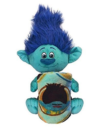 Dreamworks Branch Character and Blanket