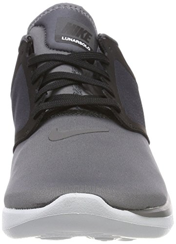 White Men's NIKE Running Shoes Black Grey LunarSolo 13 Z11qa8