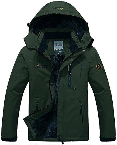 Mochoose Mountain Sportwear Coat Da Con Rain Cappuccio Uomo Sci Windbreaker Impermeabile Green Vello Outdoor Neve Giacche Caccia Campeggio Pesca Working Army Jacket 76qpxrw7E