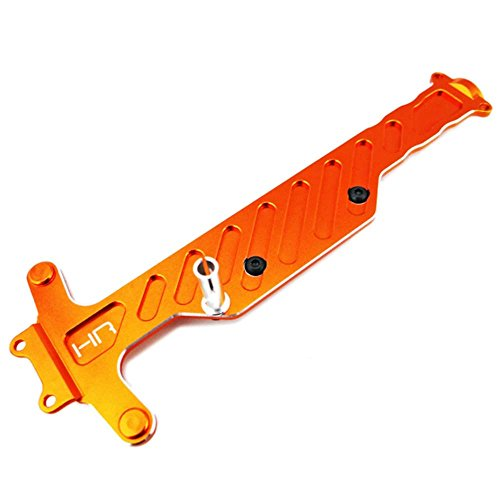 Anodized Aluminum Chassis Braces (Hot Racing DMD1403 Aluminum Upper Chassis Brace - Dromida 1/18)