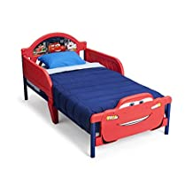 Delta Children 3D Plastic Toddler Bed, Disney/Pixar Cars