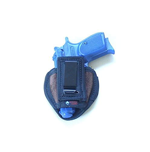 Tuckable Universal Clip Holster for Walther PPK, Sigma, Bersa 380s, Khar 9mm and Similar Size Semi-Automatics