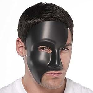 Amscan Phantom Black Mask Costume Accessories
