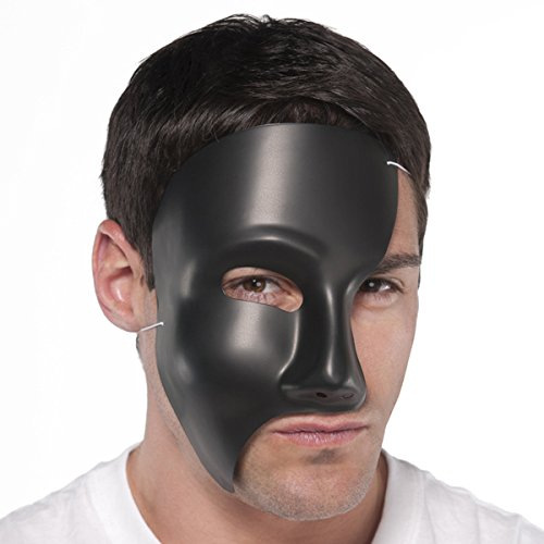 Phantom Opera No Mask (Amscan Phantom Black Mask Costume Accessories)
