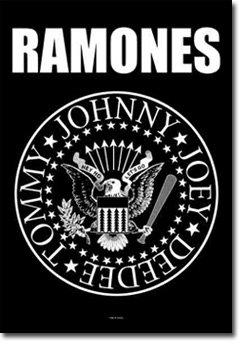 (Ramones - Eagle Logo Textile Poster)