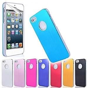 CECT STOCK Funda protectora de metal en Finalizar para iPhone 5/5S (colores surtidos) , Rosado
