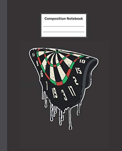 (Composition Notebook: Liquid Dartboard Darts Art - Blank Composition Notebook Wide Ruled College Ruled Notebook. 110 Sheets / 220 Pages. Composition ... Notebook. Workbook for Teens Kids Students.)