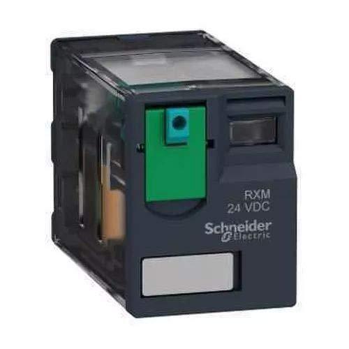 Schneider Electric Rxm2ab1bd miniature Relais Plug-in 12/A courant nominal thermique 24/V DC 2//°C//ou contacts sans LED