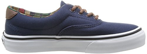 Vans K ERA 59 - C L Unisex-Kinder Sneaker Blau (Bleu (Dress Blues/Potting Soil))